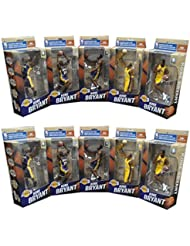 Kobe Bryant 10 NBA Finals Lakers McFarlane Championship Series Figure Set/3000