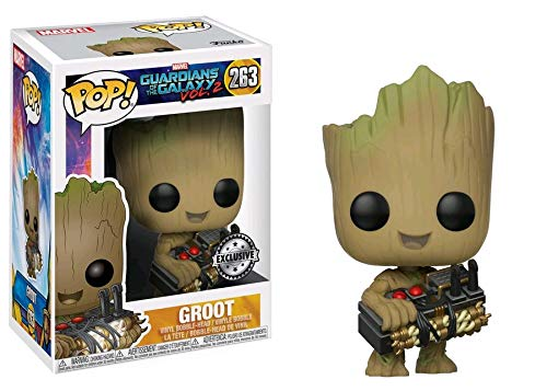POP Funko Marvel Guardians of the Galaxy Vol 2 Groot #263 (Holding Bomb) Toys R Us Exclusive