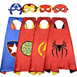 ROKO Fun Cartoon Superhero Capes for Kids - Best Gifts