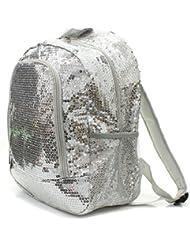Sequins Bling Bling Backpack - SILVER