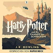 Harry Potter und die Kammer des Schreckens: Gesprochen von Rufus Beck (Harry Potter 2) Hörbuch von J.K. Rowling Gesprochen von: Rufus Beck