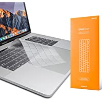 UPPERCASE GhostCover Premium Ultra Thin Keyboard Protector for MacBook Pro with Touch Bar 13 and 15 (2016 2017 2018, Apple Model Number A1706, A1707, A1989, A1990)