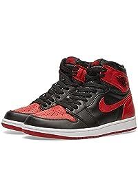 Air Jordan 1 Retro OG 'Banned' 555088 001 (Black/Varsity Red-White)