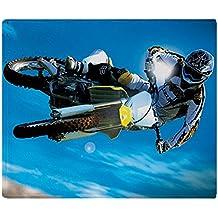"CafePress - Motocross Side Trick - Soft Fleece Throw Blanket, 50""x60"" Stadium Blanket"