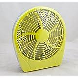 """Dynexâ""""¢ - 9 Table Fan - Lemon Yellow"""