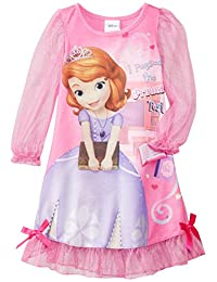 Disney Little Girls' Sofia-The-First Costume Sleep Gown