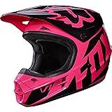 Fox Racing 2017 Race Adult V1 Motocross Motorcycle Helmets - Pink/Large