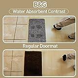 BEAU JARDIN Indoor Doormat Super Absorbs Mud
