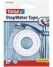 Tesa 56220-00000-00 StopWater Tape, 12m x 12mm, Wit