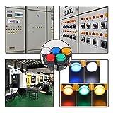 VictorsHome Indicator Light AC/DC 12V 20mA LED
