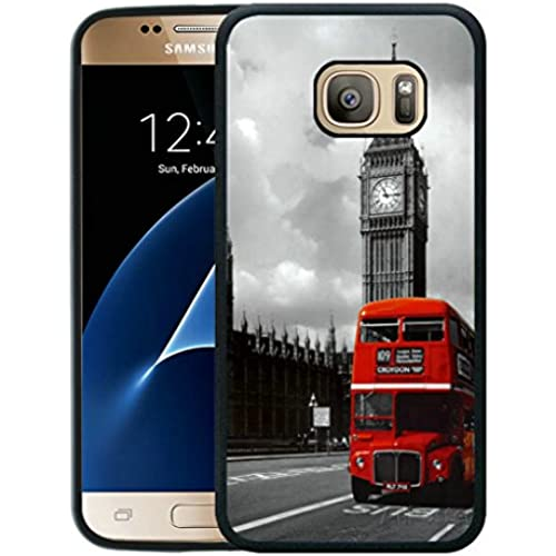 Galaxy S7 Case,London Red Bus Samsung Galaxy S7 Cover TPU Case Sales