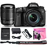 Canon EOS 7D Mark II Digital SLR Camera Deluxe PRO Bundle + Canon EF-S 18-135mm f3.5-5.6 Lens + Camera Works PRO Kit