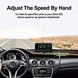 VJOYCAR C60s Digital GPS Speedometer Car Hud Head