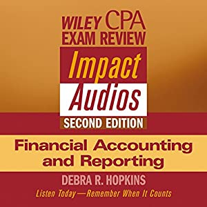 Wiley CPA Examination Review Impact Audio, Second Edition Audiobook