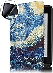 Capa Novo Kindle Paperwhite à Prova D'água WB® Ultra Leve Auto Hibernação Sensor Magnético Silicone Flexível V