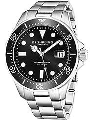 Stuhrling Original Mens 824.01 Regatta Analog Japanese Quartz Stainless Steel Watch