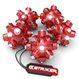 Striker 00141 Magnetic Light Mine Stocking Stuffer, 5-Pack, Red