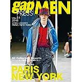 gap PRESS MEN 2017年Vol.51 小さい表紙画像