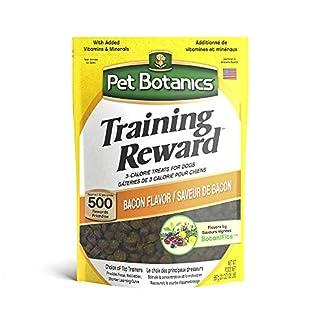 Pet Botanics Training Rewards Treats for Dogs, Made with Real Pork Liver, Focuses, Motivates, Rewards, Speeds Up Learning Curve, No BHA, BHT, Ethoxyquin, Bacon, 20 oz (1 pack)