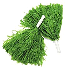 BOSHEN Green Cheerleading Pom Poms - 12 Pieces
