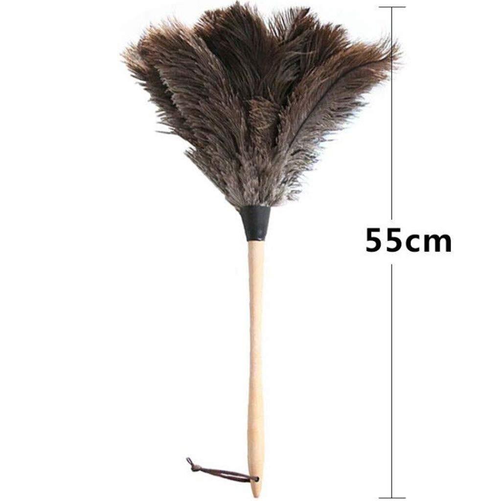 LXJ-LD Qualität Duster Holz Griff Strauß Feder Feder Feder Duster für Office Familie,55CM B07NVTRT5B Staubwedel ac9e41