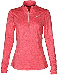 Womens Dry Fit Element Half Zip Running Top