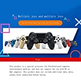 HPTDML Wireless Controller for Playstation 4-red