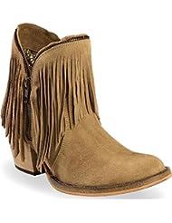 Dingo Womens Hypnotic Fringe Cowgirl Boot Round Toe - Di7451