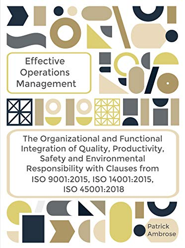 Effective Operations and Performance Management