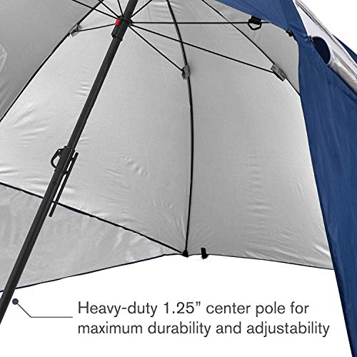 9-Foot Sport-Brella Premiere XL UPF 50 Umbrella Shelter for Sun and Rain Protection