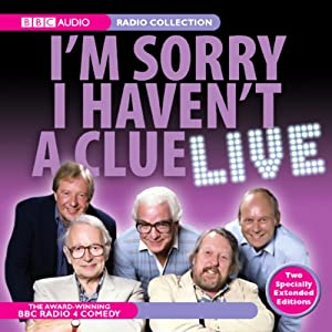 I'm Sorry I Haven't a Clue Live Radio/TV Program