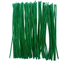 """Saim Pipe Cleaners Chenille Stems 12"""" for Creative Handmade Arts and Crafts, Pack of 100"""