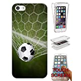 002608 - Sport Net Goal Football Soccer Net Design iphone 4 4S Fashion Trend CASE Gel Rubber Silicone Complete 360 Degrees Protection Flip Case Cover