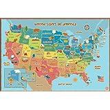 Wall Pops WPE0623 Kids USA Dry