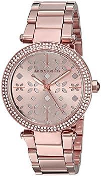 Michael Kors Women's Mini Parker Rose Gold Tone Bracelet Watch