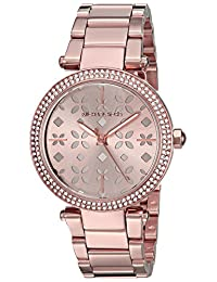 Michael Kors Women's 'Mini Parker' Quartz Stainless Steel Casual Watch, Color:Rose Gold-Toned (Model: MK6470)