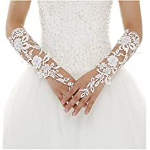 Botong Half Sleeve Bridal Gloves Lace Wedding Accessories