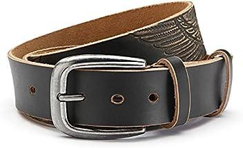 Echt Leder- Gürtel Adler Motiv Herren Jeans Gürtel 3,8 cm Breite- hochwertige Bearbeitung