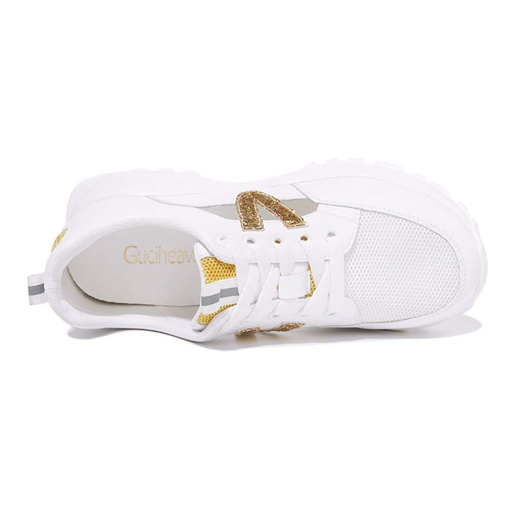 Zarbrina Women's Durable Platform Anti-Slip Sneakers Girls Anti-Slip Platform Fitness Workout Hidden Heel Increased Height Shoes B07GNQQ8BL Platform e475cc