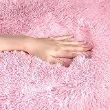 YJ.GWL Soft Shaggy Area Rugs for Bedroom Fluffy