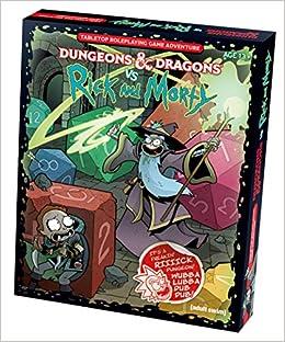 D&D RPG RICK & MORTY TABLETOP RPG