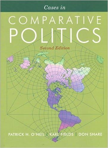 Cases in Comparative Politics (Second Edition)