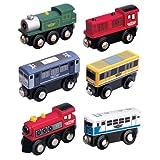 Maxim Enterprise 50408 6-Piece Train Car Combo