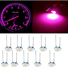 cciyu 4.7mm-12v Car Purple Mini Bulbs Lamps Indicator Cluster Speedometer Backlight Lighting for GM GMC,10Pcs