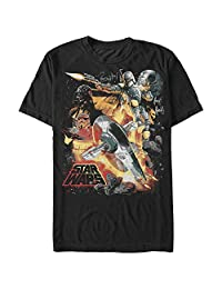 Star Wars Mens Force Hunter Graphic T-Shirt