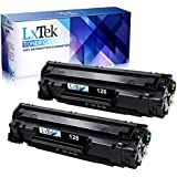 LxTek Canon 128 (2 Black) Compatible Toner Cartridge Replacement For Canon CRG128 3500B001AA CE278A For Canon ImageCLASS D530,D550,MF4570dn,MF4770n,FAXPHONE L190,L100,MF4880dw,MF4890dw,MF4450 Printer