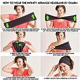 CHARM Mens Womens Elastic Bandana Headband Japanese
