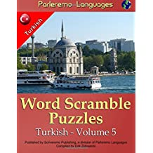 Parleremo Languages Word Scramble Puzzles Turkish - Volume 5