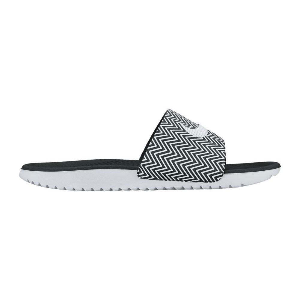 NIKE Women's Kawa Slide Sandal B01F47NWC6 10 B(M) US|Black/White