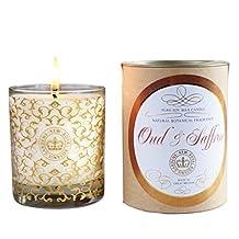 Kew Vintage Soy Candle (Saffron and Oud)